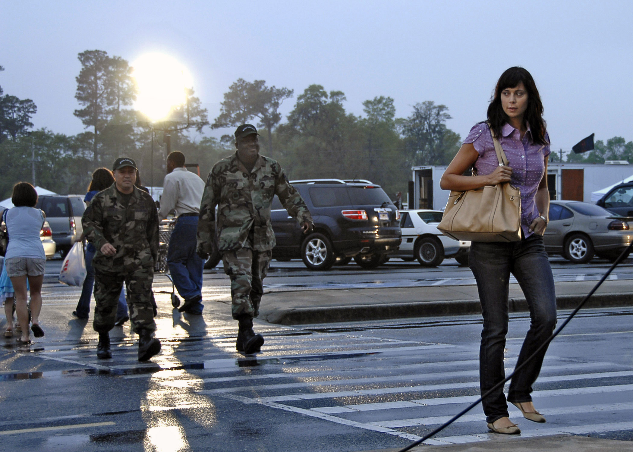 Army Wives Films On Charleston U S Air Force Article Display