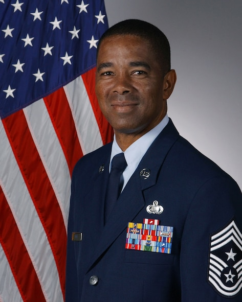 Chief Master Sgt. Terry Reed as he looks just prior to his retirement. (U.S. Air Force photos/File)