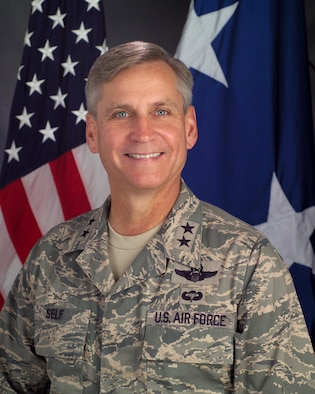 Kip Self is commander of the U.S. Air Force Expeditionary Center. c7f62ff2d