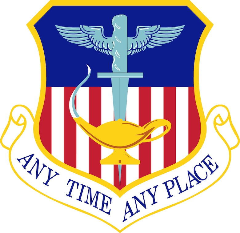 1st Special Operations Wing Shield (Color). Image provided by the Air Force Historical Research Agency. In accordance with Chapter 3 of AFI 84-105, commercial reproduction of this emblem is NOT permitted without the permission of the proponent organizational/unit commander. The image is 7x6.8 inches @ 300 ppi.