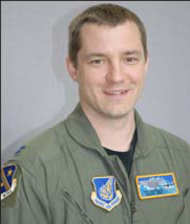 Capt. Mike Freyholtz, the 249th Airlift Squadron's C-17 pilot trainer.