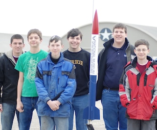 The National Museum of the U.S. Air Force will be hosting a team of students, grades 6-12, for the 2020 Team America Rocketry Challenge. Team meetings will be held from June of 2019 through May of 2020. Interested students must complete an application form by May 30, 2019. Selections will be made by June 15, 2019. Click on the picture for more information. (Photo of 2008 TARC Team).