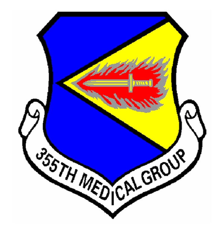 355th Medical Group Patch