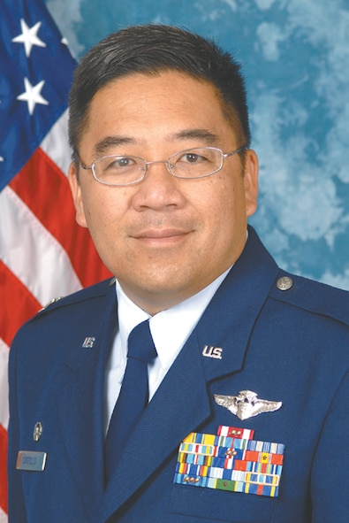 Colonel (Dr.) Craig Castillo, 55th Aerospace Medicine Squadron commander, relied on his CPR training to help save a woman's life during an Air Combat Command banquet April 4 at Langley Air Force Base, Va.