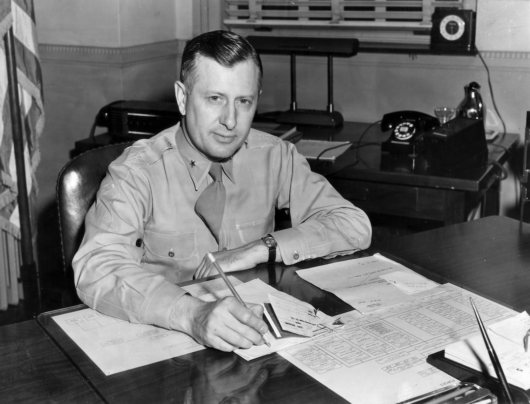 "U.S. Air Force Brig. Gen. William H. Tunner, directed the Berlin Airlift operation, and gave his blessing to Halvorsen's efforts, giving birth to ""Operation Little Vittles."""