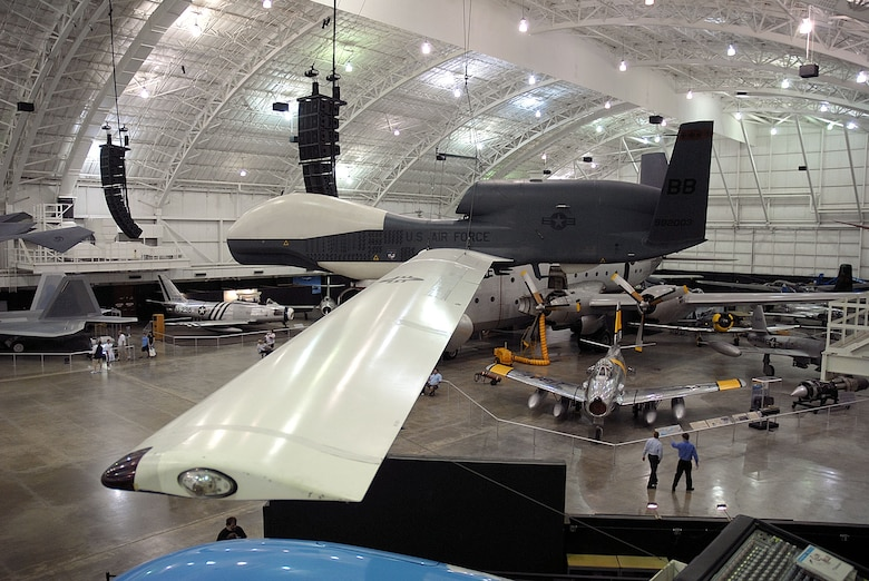 DAYTON, Ohio -- Northrop Grumman RQ-4 Global Hawk at the National Museum of the United States Air Force. (U.S. Air Force photo)
