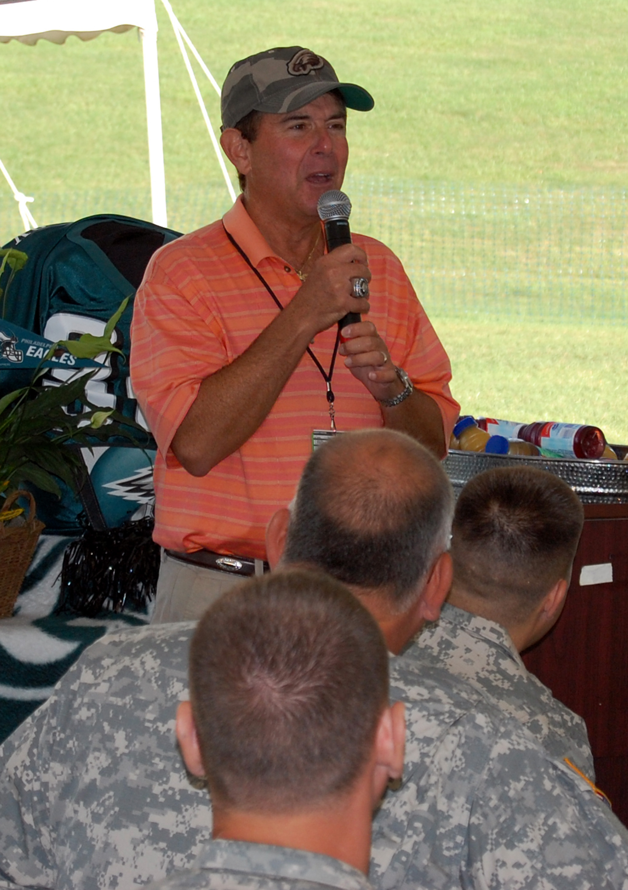 Leaders at NFL training camp highlight appreciation for military ... 549410808