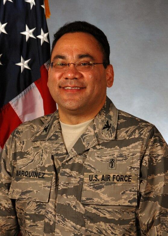 Col. Marquinez, Medical Group Commander