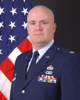 Lt. Col. Mark Murphy, 354th Maintenance Group deputy commander.