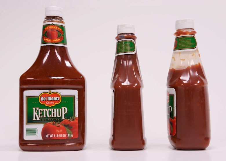 SHAW AIR FORCE BASE, S.C. -- Base officials here initiated a local food item recall and are advising residents to throw out any Del Monte ketchup bottles purchased from the Shaw AFB Commissary before today or at the National Guard Armory Commissary ?Lot Sale? in Myrtle Beach, S.C. between July 31 and Aug. 2.  The Commissary will provide full refunds to patrons returning Del Monte ketchup bottles of any size. (Courtesy photo)