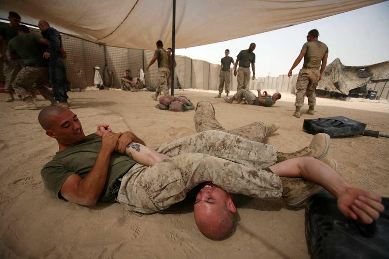 vmu 2 taps out martial arts 103 marines advance belt