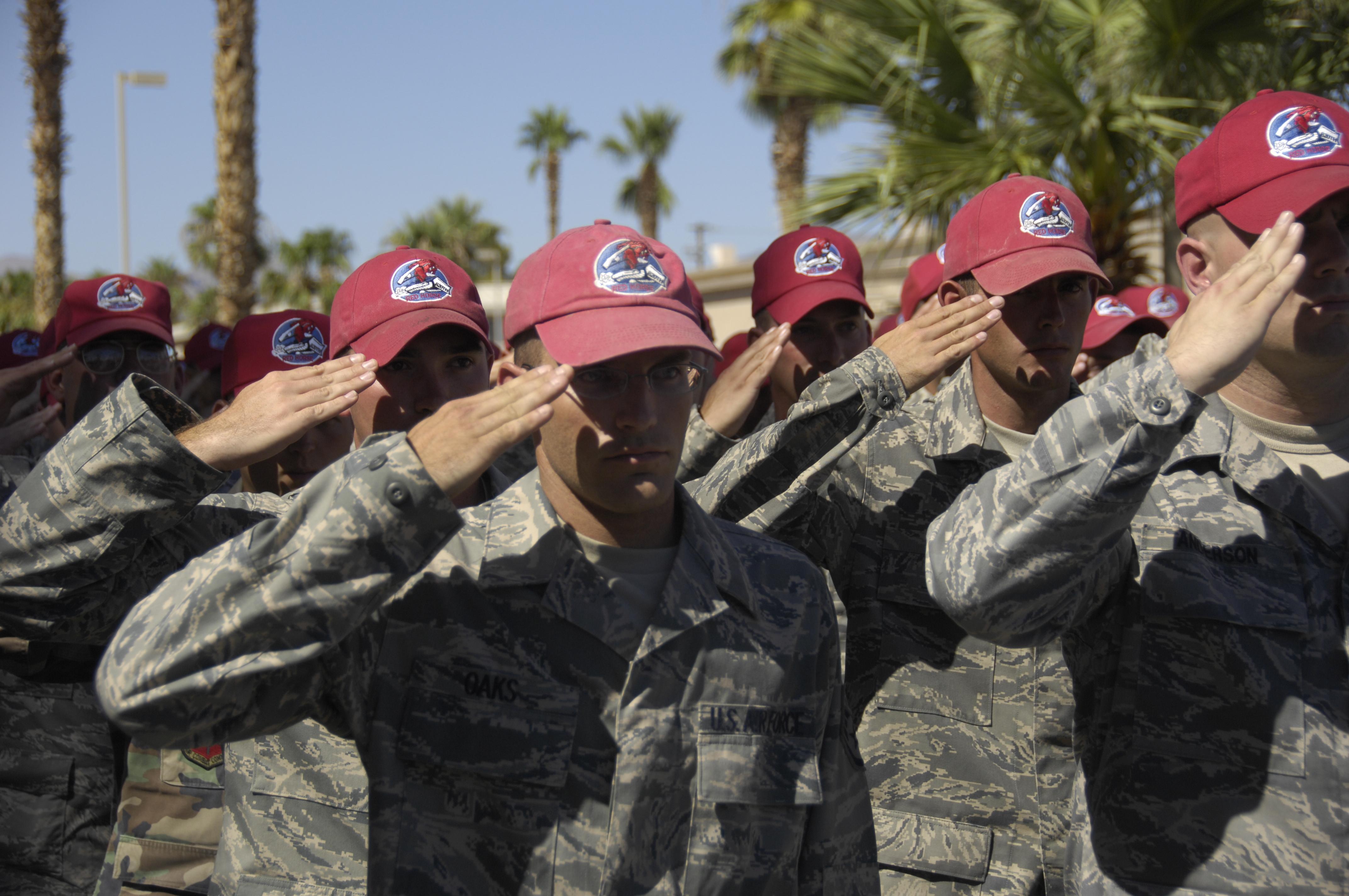 820th Red Horse Squadron Nellis Remember Fallen Airman