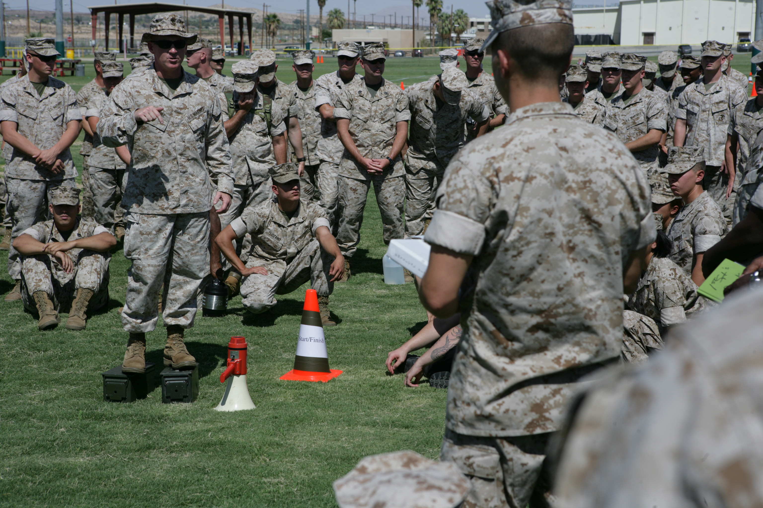 Fitness Roadshow visits Combat Center, shows off CFT