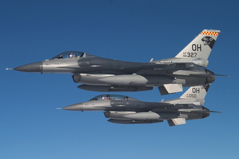 f-16 two ship