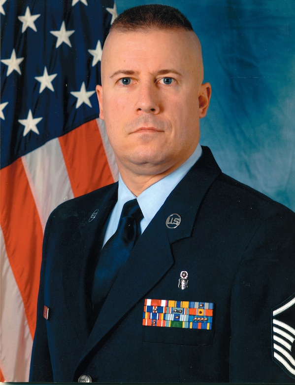 Master Sgt. Daniel Beverly, 316th Force Support Squadron first sergeant. (Courtesy photo)