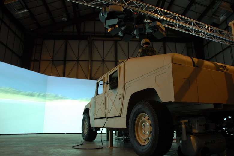 Much like an IMAX, a 280 degree screen brings to life real world scenarios