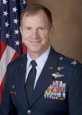 Col. Stephen Latchford, 595th Space Group commander