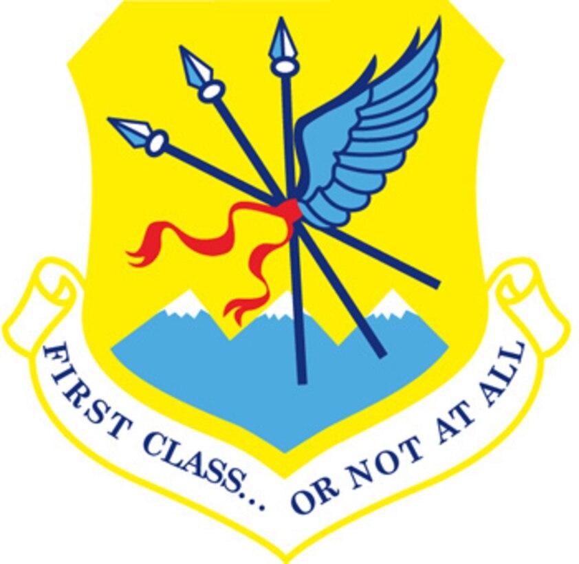 The emblem represents the 124th Wing, Idaho Air National Guard.