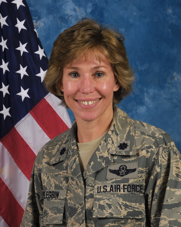 LtCol Cynthia Pelegrin assumed the duties of ther Inspector General for the 128th Air Refueling Wing in October of 2008.