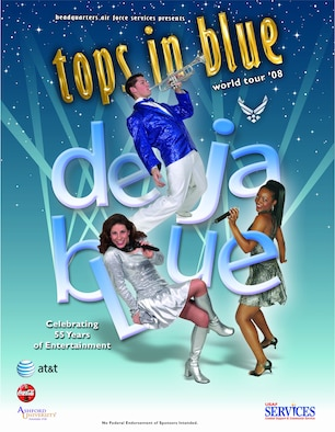 Tops in Blue is scheduled to come to Team Andersen for a performance at Hangar #1 Jan. 3 at 7 p.m. Doors open at 6:15 p.m.