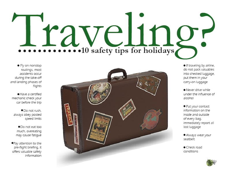 Holiday Travel Safety Tips Moody Air Force Base Article Display