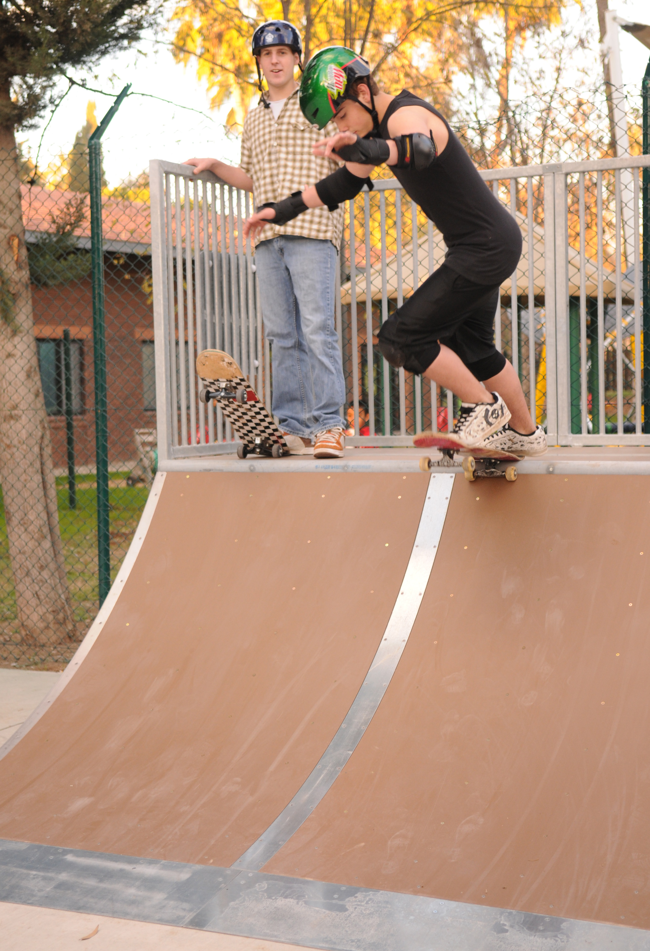 Skate park grand opening