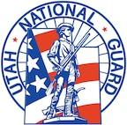 The official seal of the Utah National Guard.