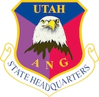 The official emblem of State Headquarters, Utah Air National Guard.