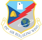 The official shield of the 151st Air Refueling Wing, Utah Air National Guard.  The unit is based in Salt Lake City, Utah and is an AMC gained wing.