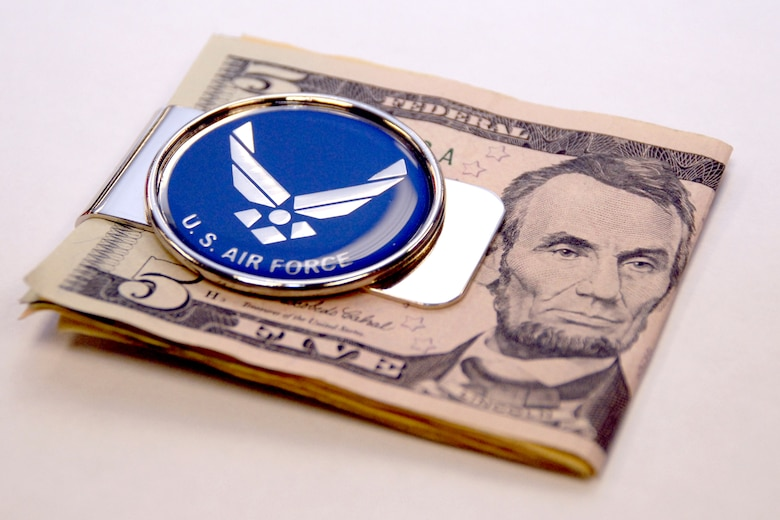 money clip (USAF graphic/Staff Sgt. Mike Meares)
