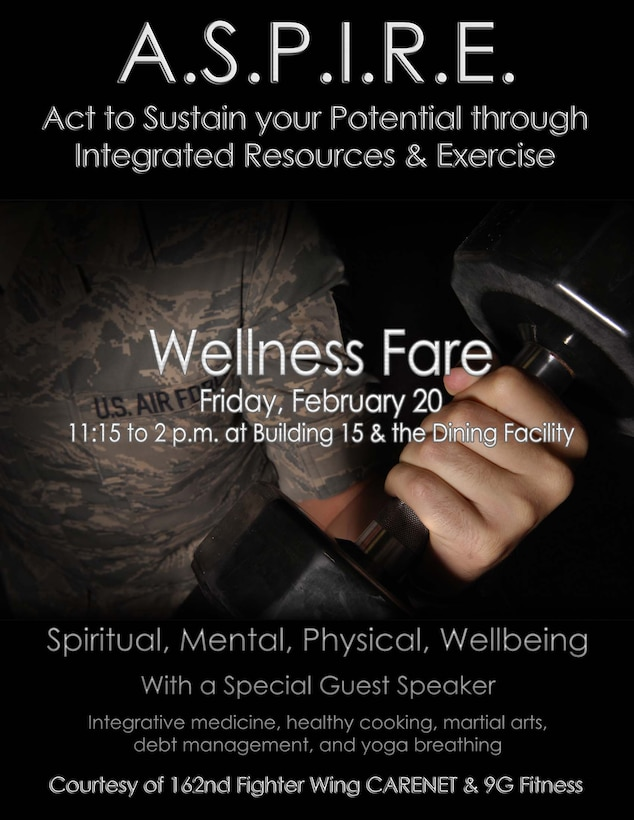 A.S.P.I.R.E. Wellness Fare, Feb. 20