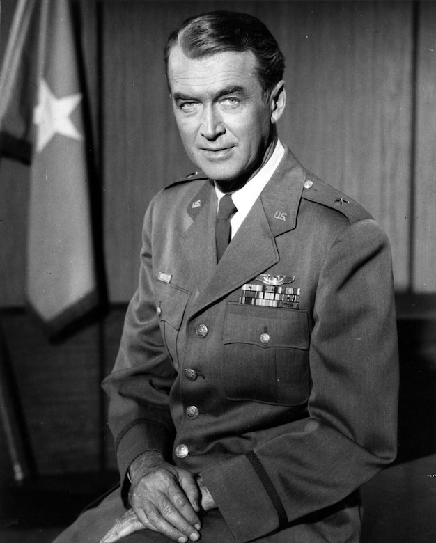 Brig. Gen. James M. Stewart, USAF Reserve. (U.S. Air Force photo)
