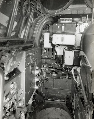 Junkers Ju 88D cockpit (U.S. Air Force photo)