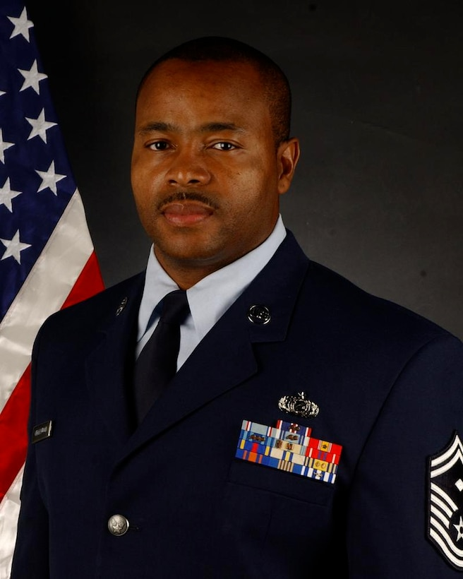 Senior Master Sgt. Christopher Underwood is the 129th Rescue Wing's Human Resources Advisor. The HRA promotes opportunities for all Air Guard members to maximize their potential for success without regard to cultural differences. (U.S. Air Force photo by Tech. Sgt. Ray Aquino)