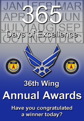 36th Wing Annual Award Winners
