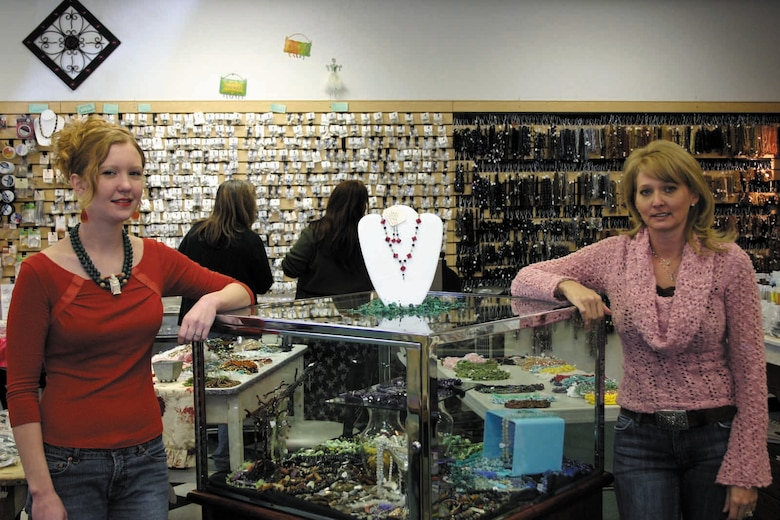 Bead Designers Kacey Walkingstick and Dawn Harlow are happy to help you start your new hobby in beading.  (Courtesy photo)