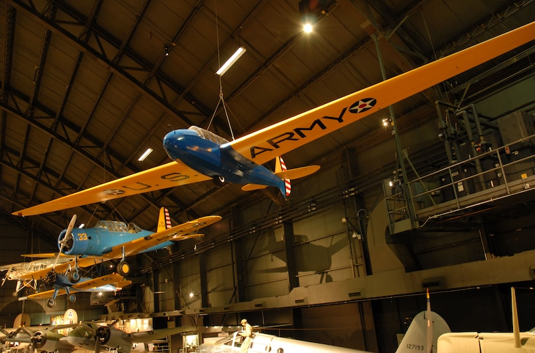 DAYTON, Ohio -- Laister-Kauffmann TG-4A in the World War II Gallery at the National Museum of the United States Air Force. (U.S. Air Force photo)