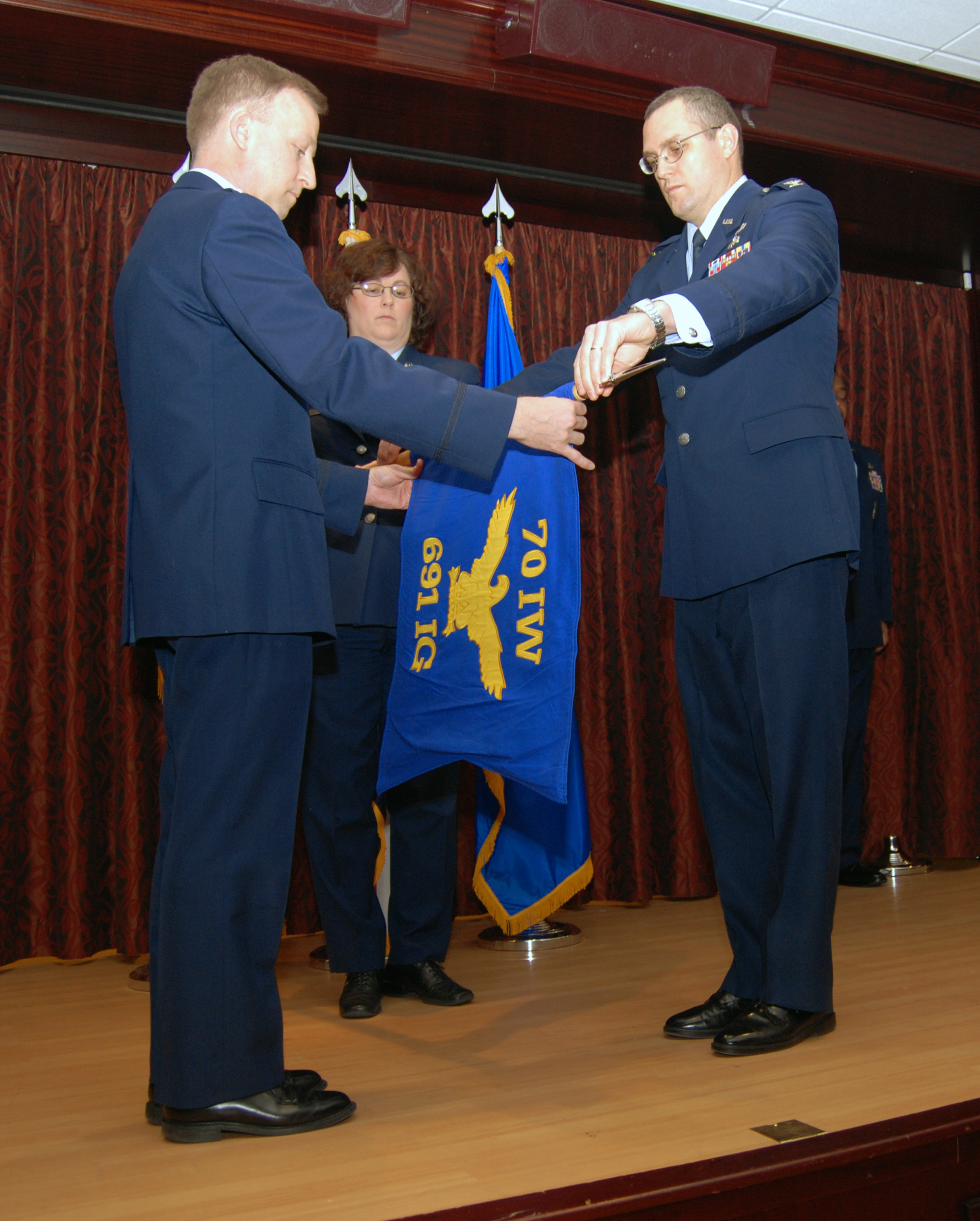 70th IW Det 1 Becomes 691st Intelligence Group