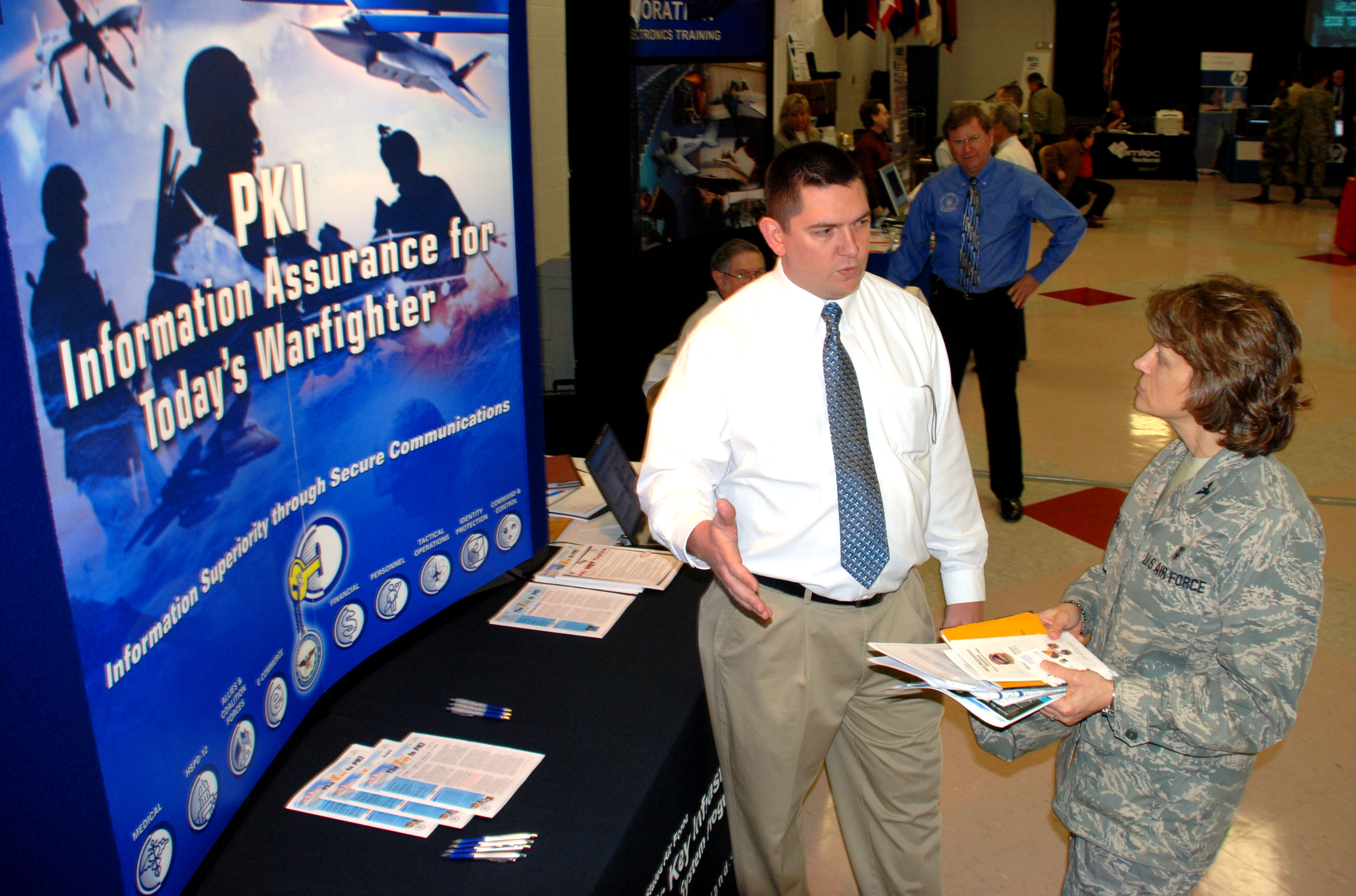 Tech Expo introduces new technology to instructors