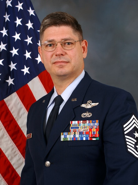 Chief Master Sgt. Michael T. Sullivan, Command Chief, Air Force Space Command