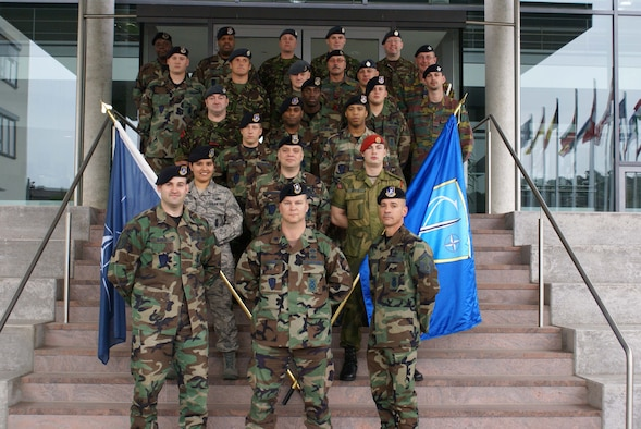 NATO military police provide security for 600 people assigned to Allied Air Component Command Headquarters Ramstein. (Courtesy Photo)