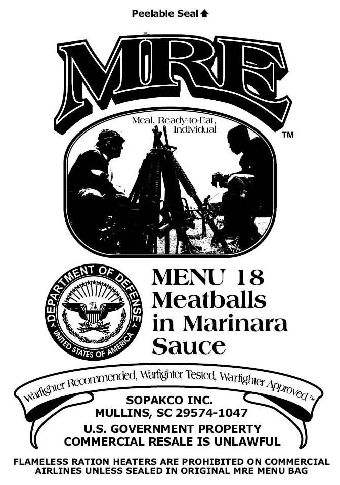 military more on meal meals pinterest menus estebanlitan kits years food pack storage extended or life and date images per different of conditions emergency mre best from shelf depending nutrition temperature