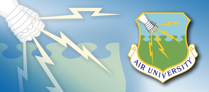 Air University offers new online master's program for Air Force civilians. (U.S. Air Force graphic)