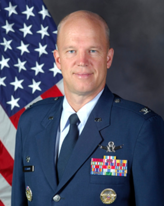 Col. Jay Raymond, 21st Space Wing commander