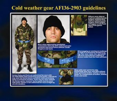 Do you know how to wear your winter weather gear?