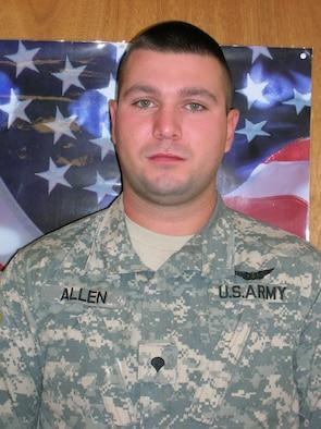 Spc. William Allen (U.S. Army photo/Mrs. Regina Turner)
