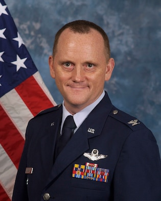 Col. Gregory M. Cain, 36th Wing vice commander