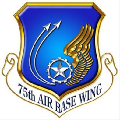 This is the 75th Air Base Wing official shield.