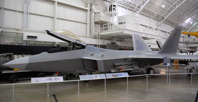 lockheed martin f 22a raptor national museum of the us air force display. Black Bedroom Furniture Sets. Home Design Ideas