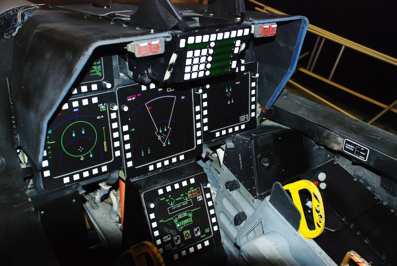 DAYTON, Ohio - Lockheed Martin F-22A Raptor cockpit at the National Museum of the U.S. Air Force. (U.S. Air Force photo)